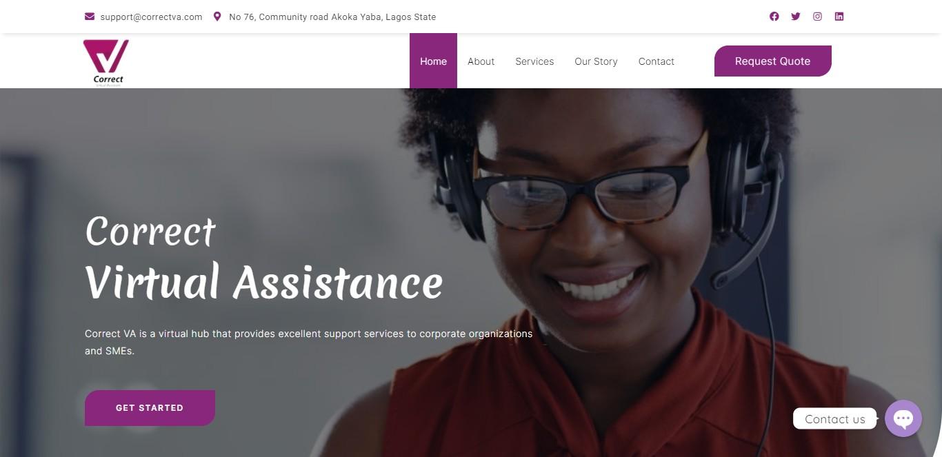 Correct Virtual Assistance - correctva